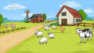 png freeuse download A . Farm background clipart