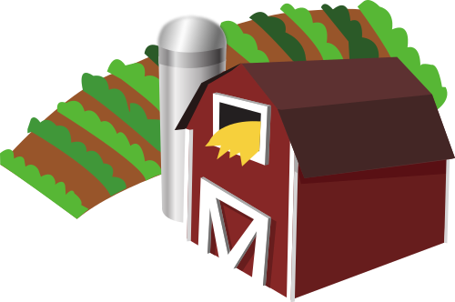 banner royalty free download Farm clipart. File barn with clip.