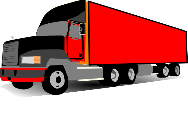 svg transparent library Trailer Truck Clipart at GetDrawings