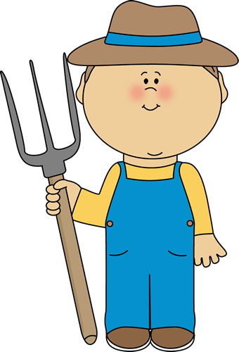 jpg download Cute Farmer Clipart