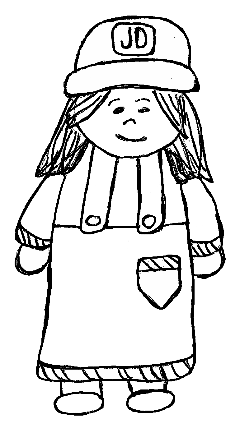 svg transparent download Girl farmer panda free. Farm clipart black and white