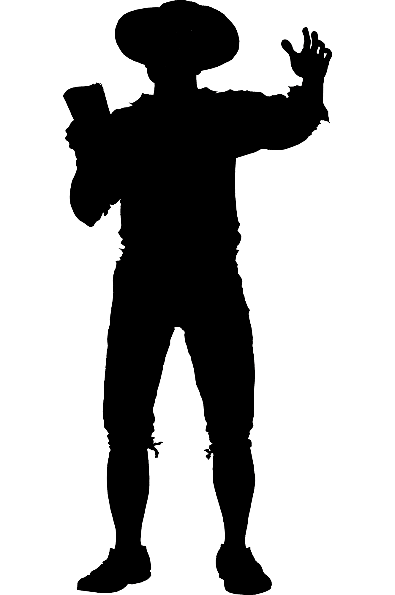 graphic library Silhouette farmer at getdrawings. Working men clipart.
