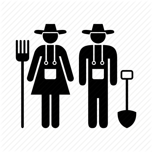 graphic royalty free farmer vector labor #96466834