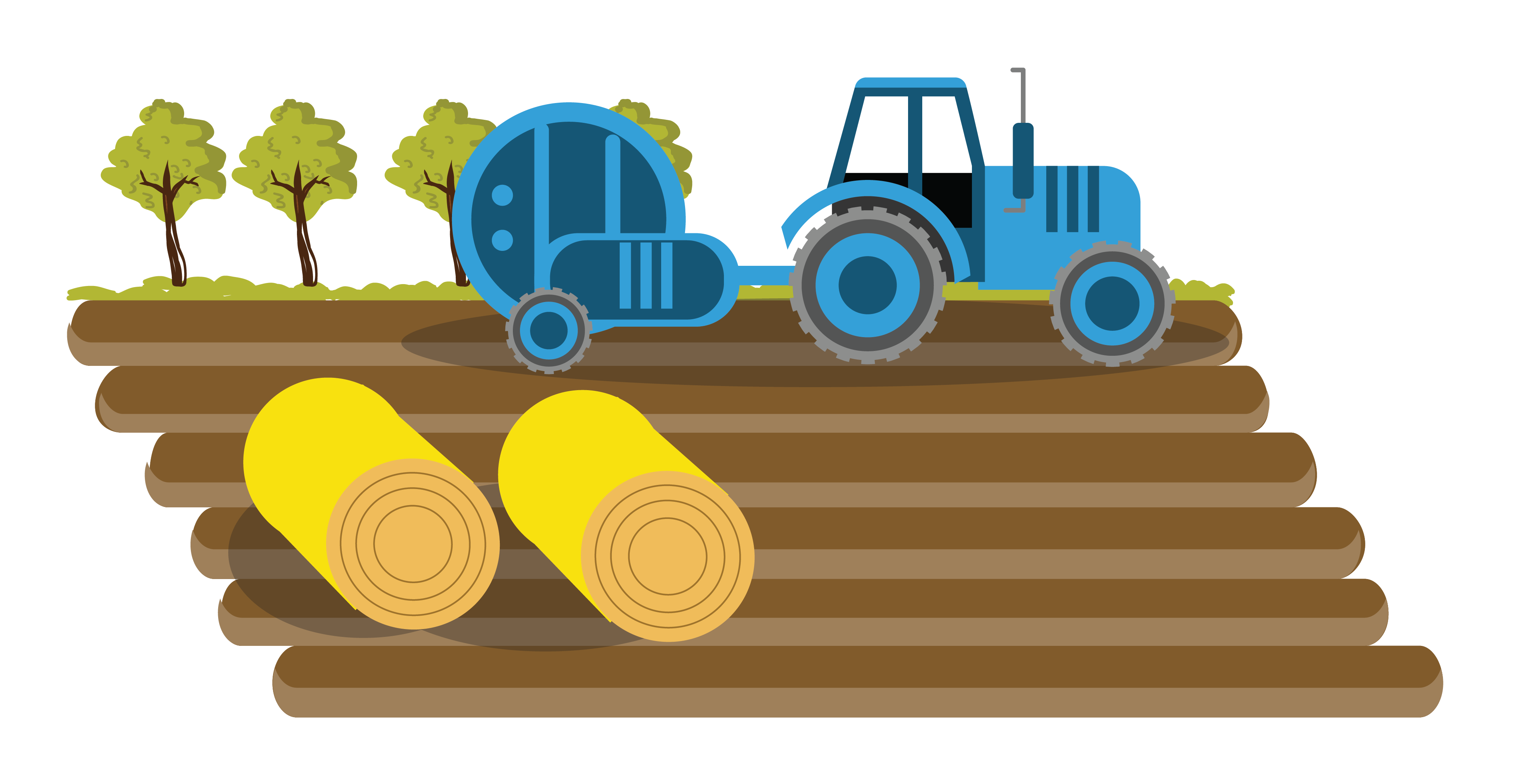 png free stock Farmer Agriculture Tractor Field