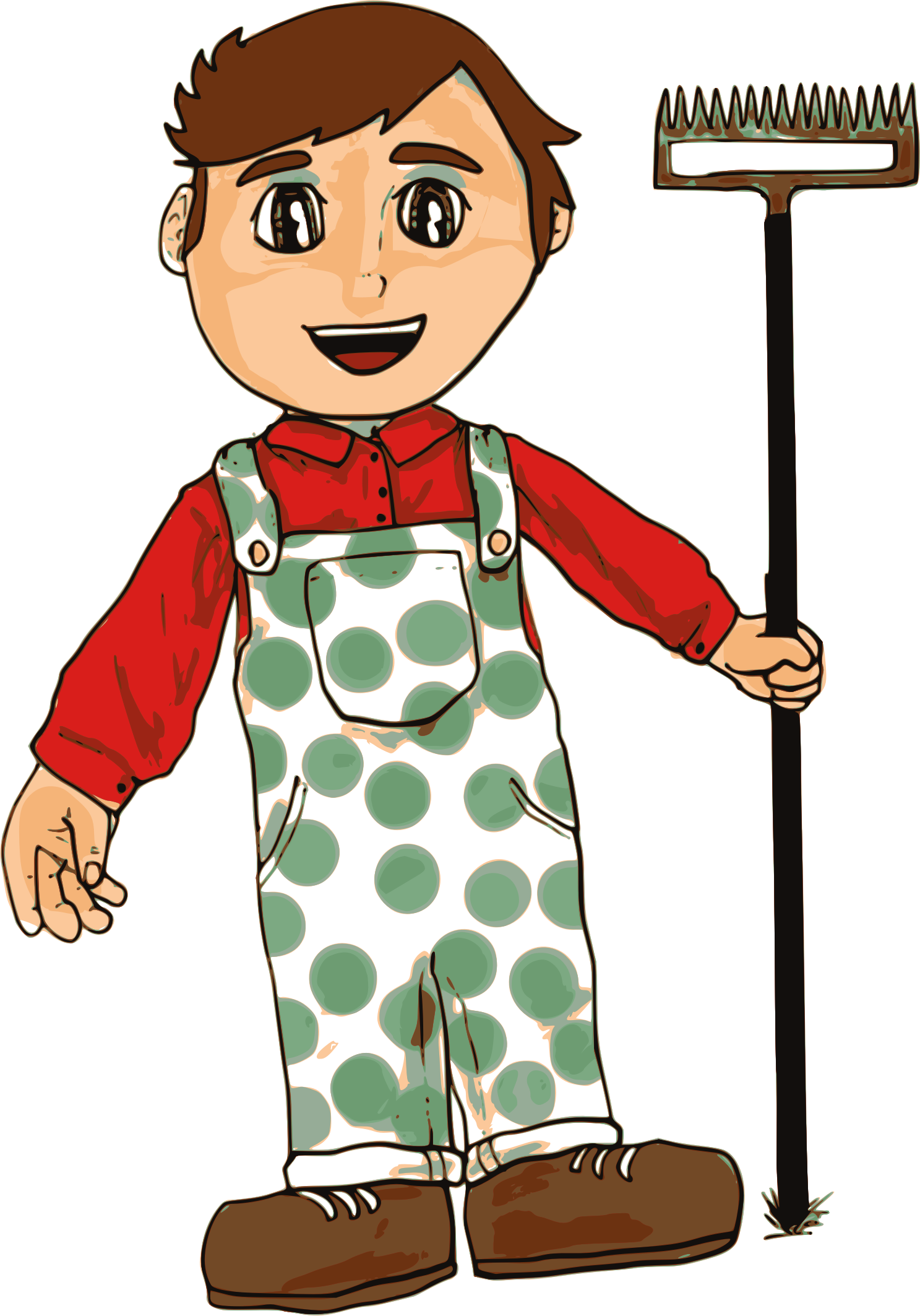 transparent download Helper clipart farmer. Boy big image png.