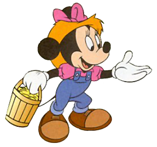 banner free Mickey clipart farmer. Minnie disney on the.