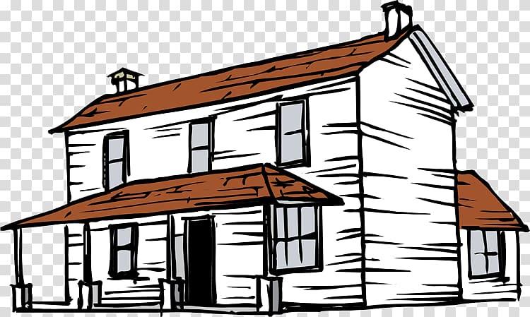 clip art black and white download Farmhouse clipart bungalow house. Silo art transparent background