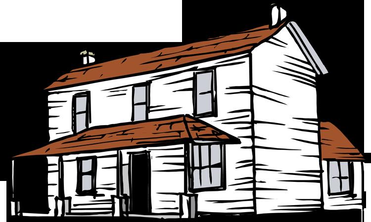 banner library stock Farm house . Farmhouse clipart