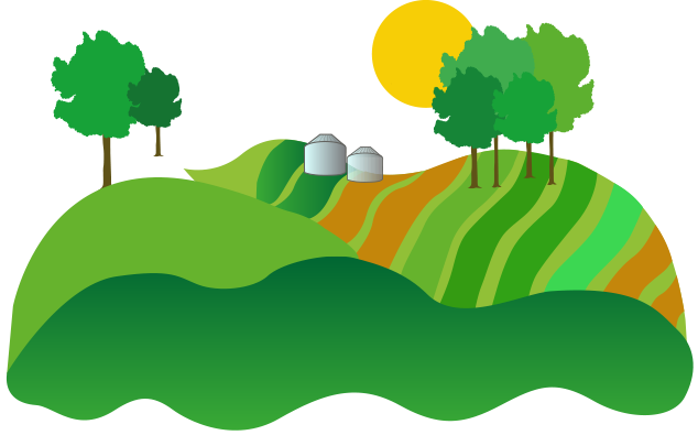 freeuse stock Land clipart crop field. A seed story croplife.