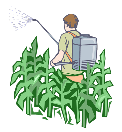 jpg black and white library Collection of free Fertilizing clipart pesticide fertilizer