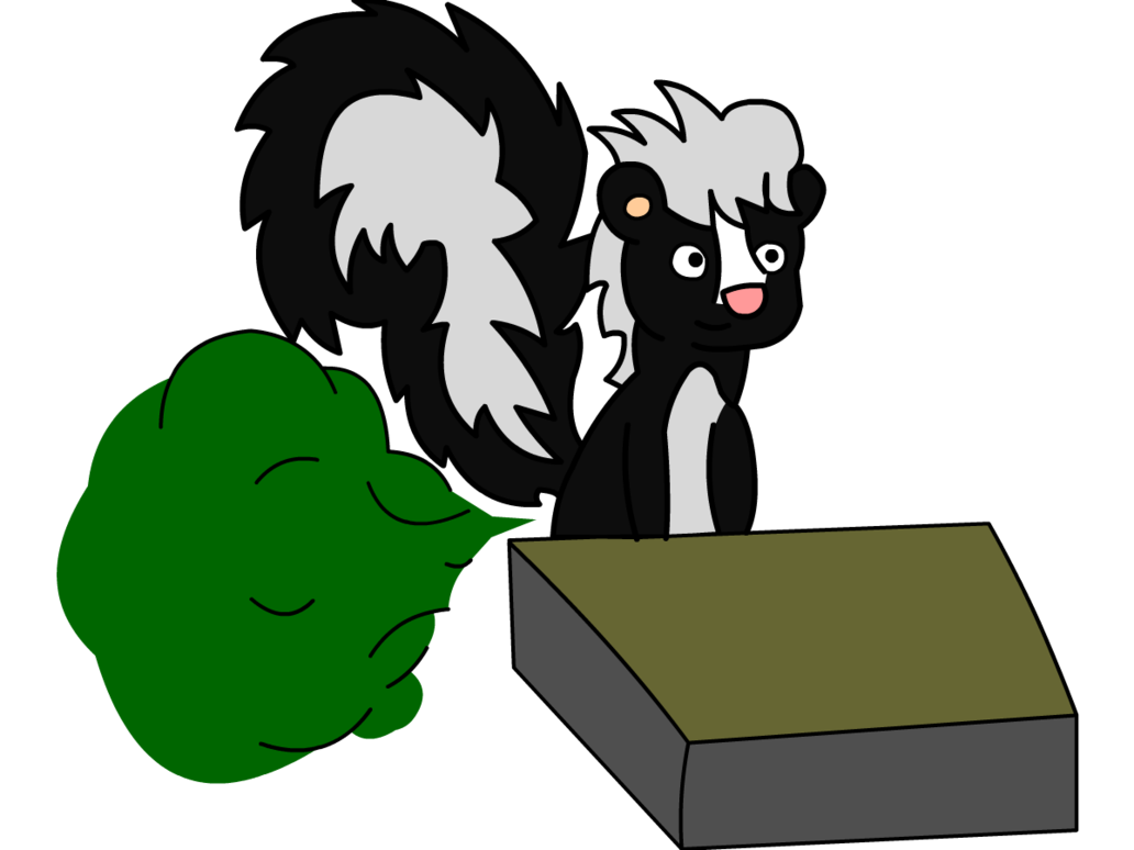 transparent library Skunk farting in class by ASCToons on DeviantArt