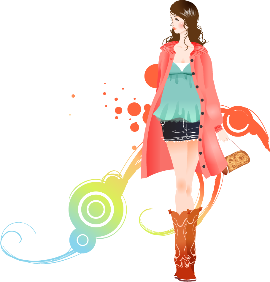 jpg freeuse stock Fashion Girl Transparent Background