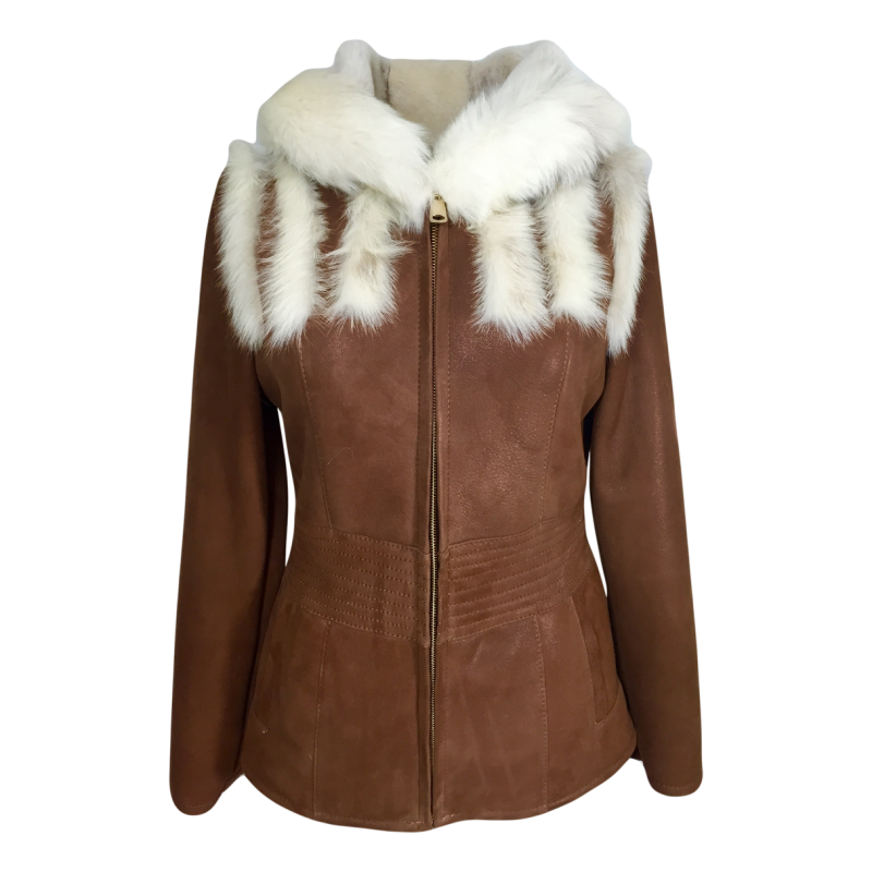 picture Dudex Fashion Ladies Womens Toscana Shearling Sheepskin Lambskin