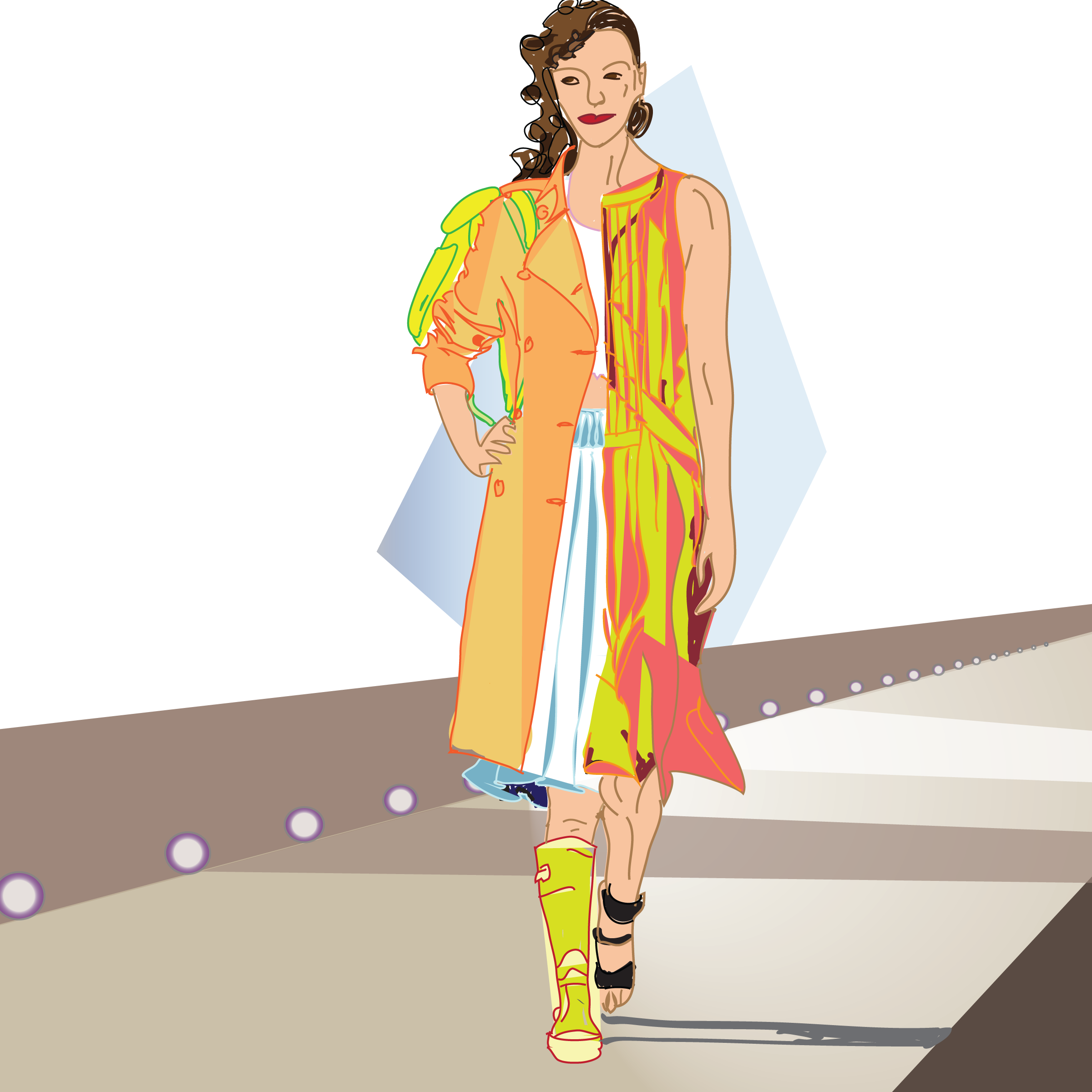 jpg free Spring fashion on and off the runway