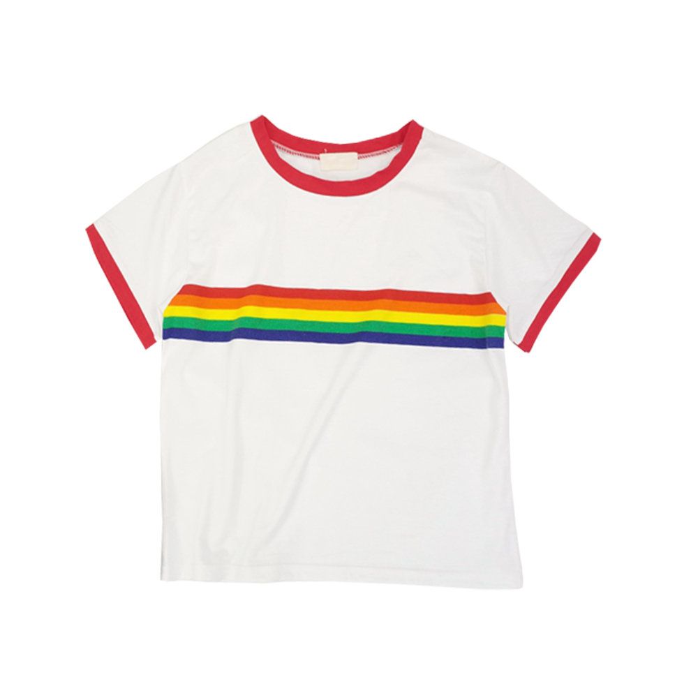 vector stock Rainbow top from Pollyanna