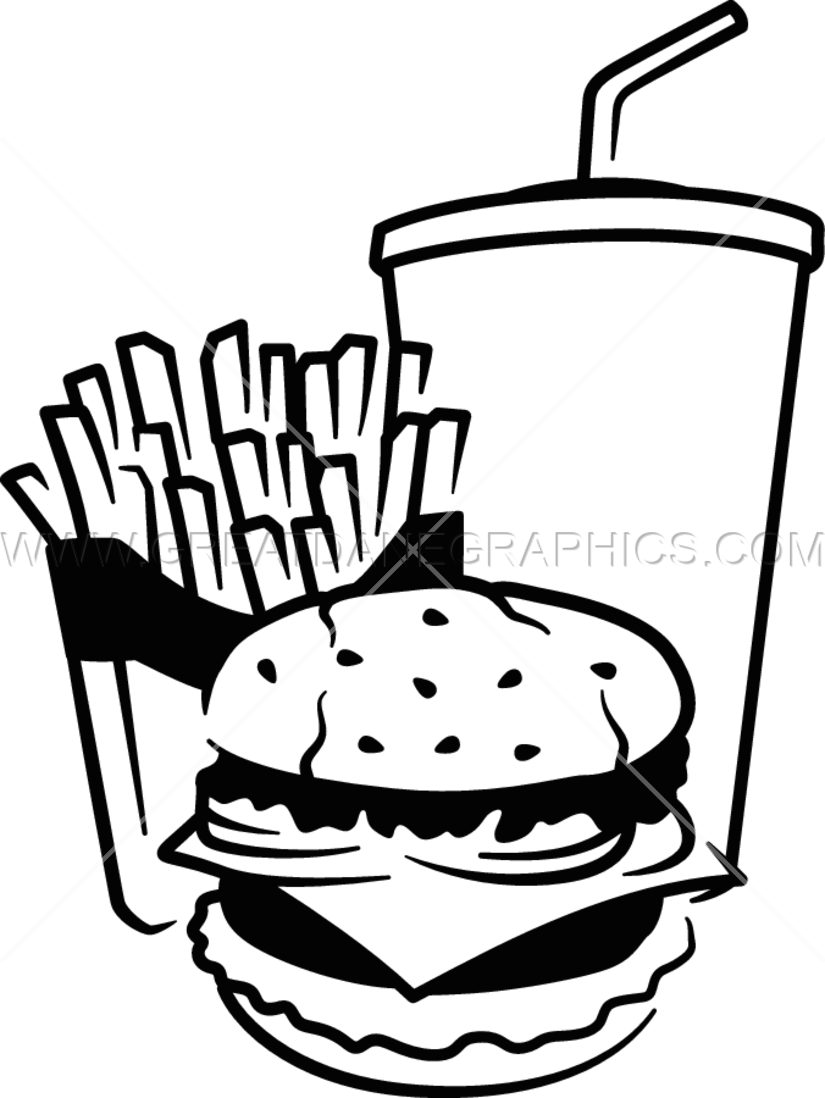 royalty free library Fast Food