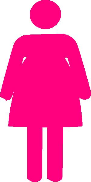 graphic transparent stock Fat Woman Clip Art at Clker