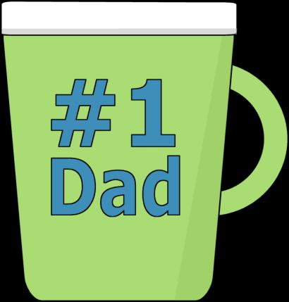 jpg free Coffee mug worlds best. Clipart dad