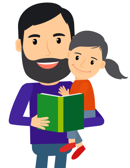 graphic library library Fathers clipart boy dad. What kind of father