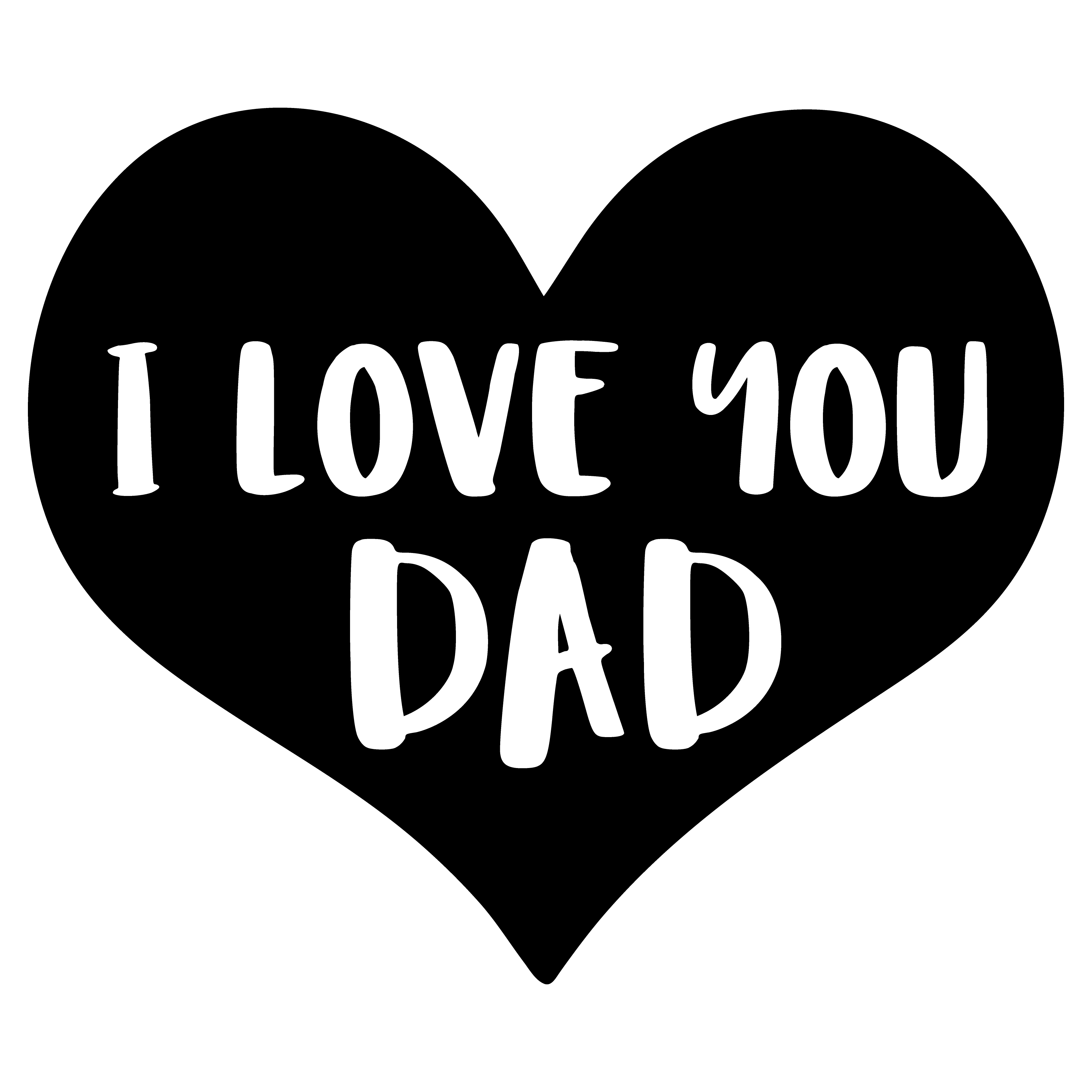 clipart stock Fathers clipart love you dad. Father transparent