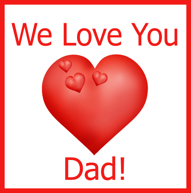 picture transparent stock Happy day . Fathers clipart love you dad