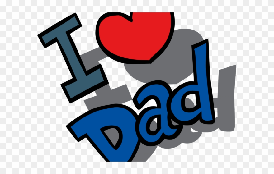 clip art freeuse Fathers clipart love you dad. Day crazy tie png