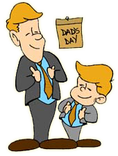 graphic freeuse Father and baby panda. Fathers clipart read with dad