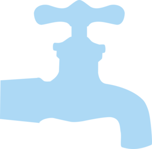 banner black and white stock Faucet clipart. Blue low opacity clip
