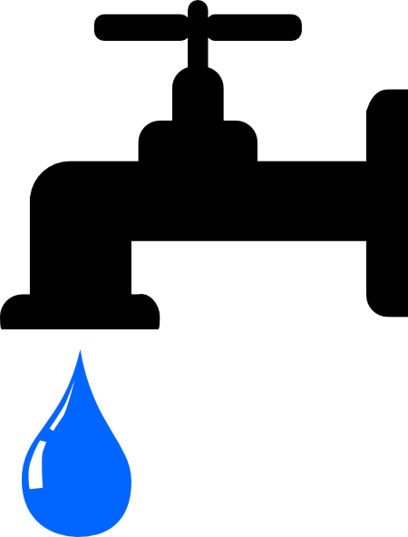 svg library download Water Faucet Clipart