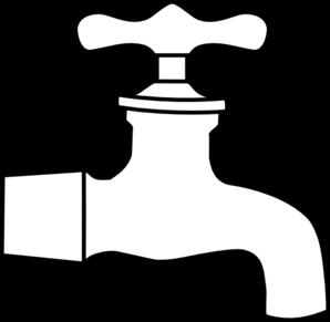 image stock Faucet clipart. Water clip art vector