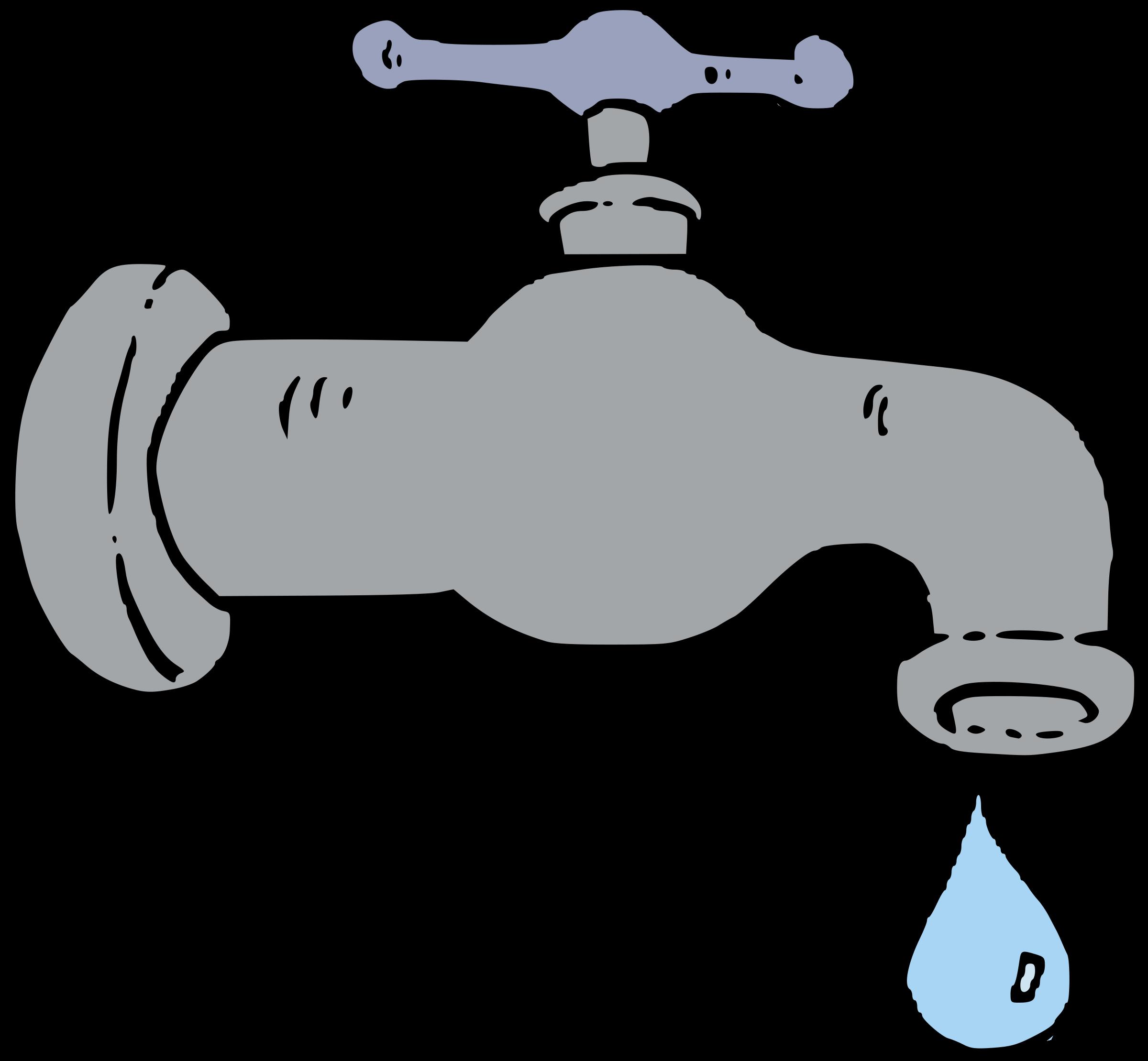 clip art Faucet clipart. Water big image png