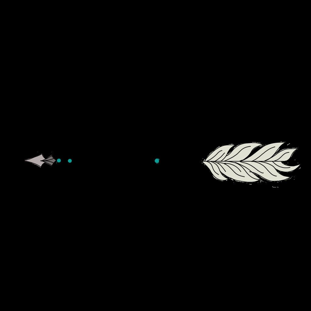 image freeuse stock Feather arrow clipart. Ftearrows arrows cute tumblr