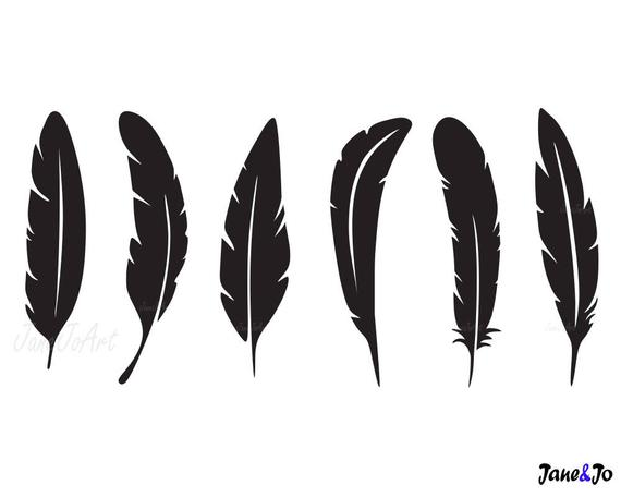 vector download Svg feathers cricut silhouette. Feather clipart