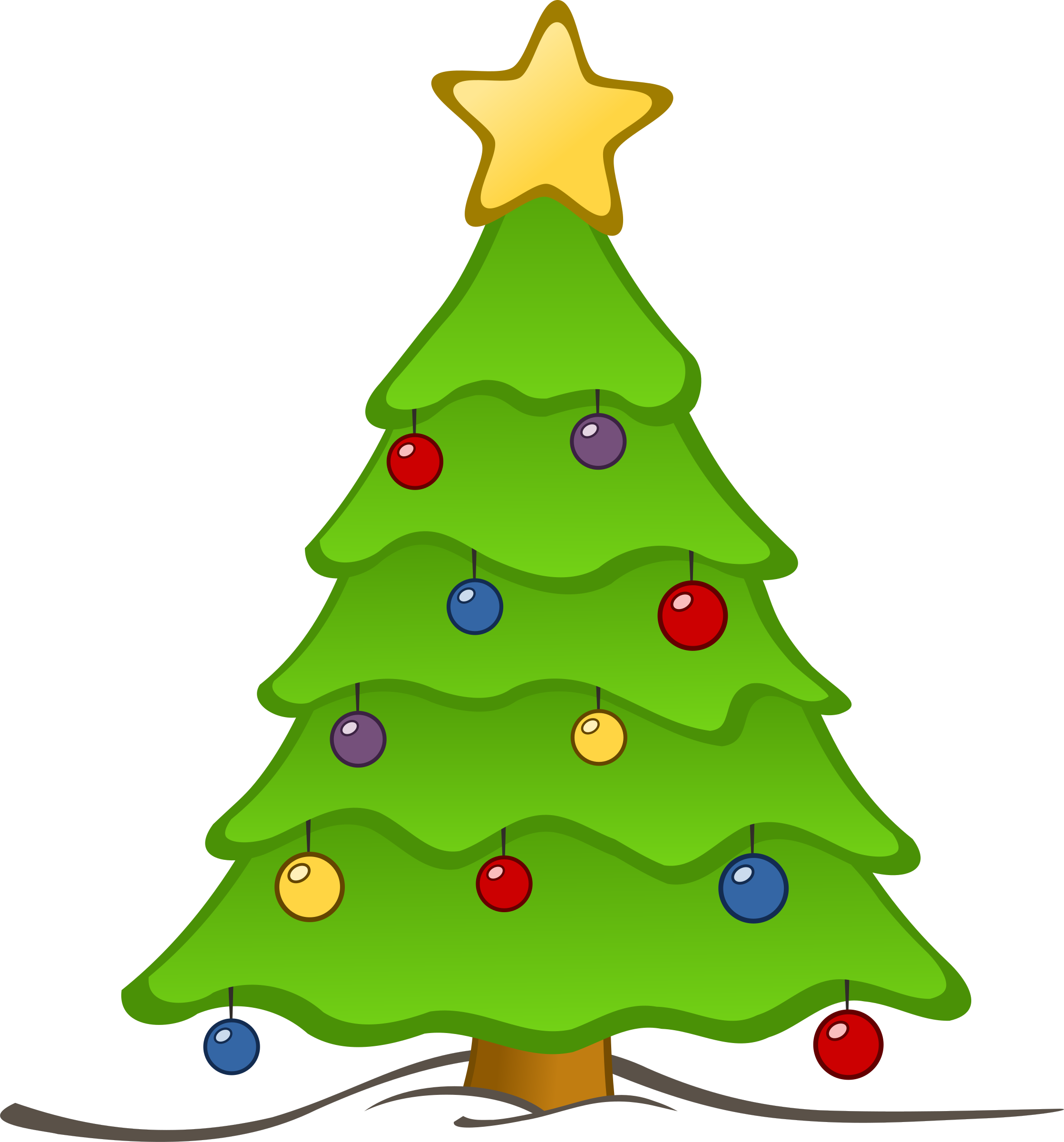 banner library stock Tree for at getdrawings. Blindfold drawing christmas
