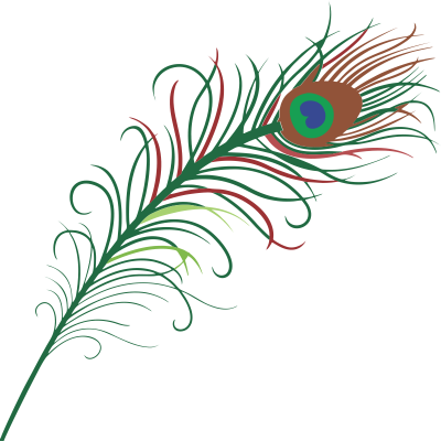 jpg Download peacock feather free. Feathers clipart.