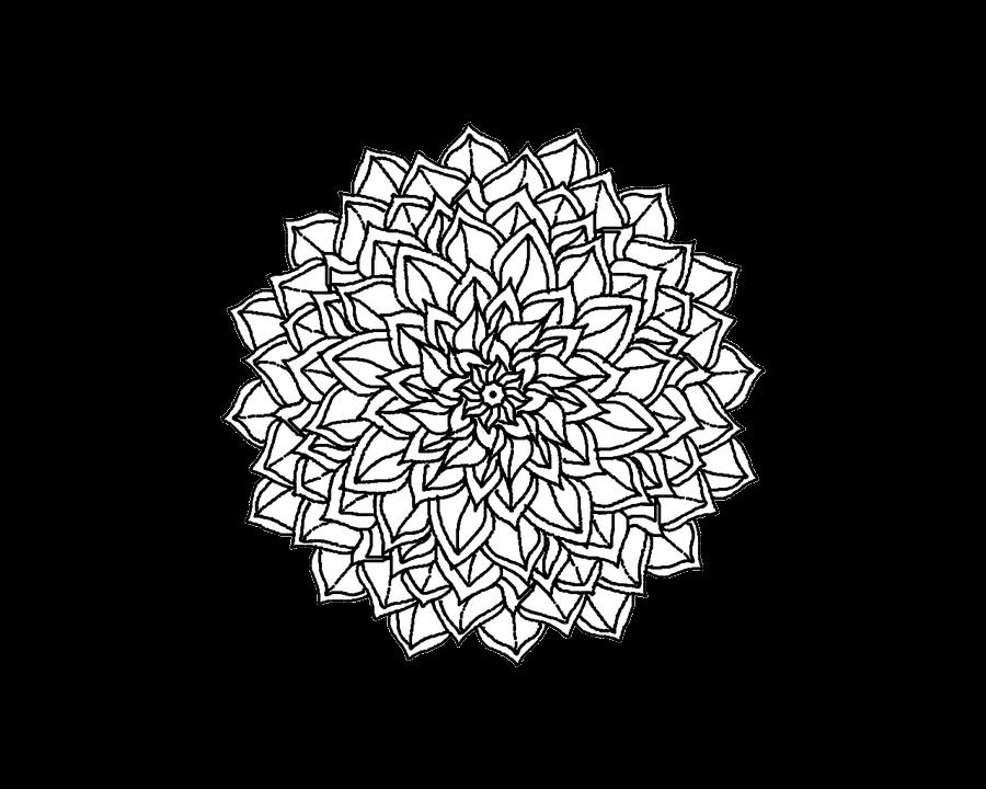 banner freeuse download Tattoo simple png stickpng. Mandala transparent.