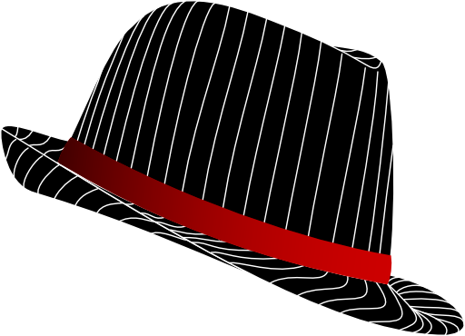 clipart freeuse library Fedora clipart. Panda free images fedoraclipart.