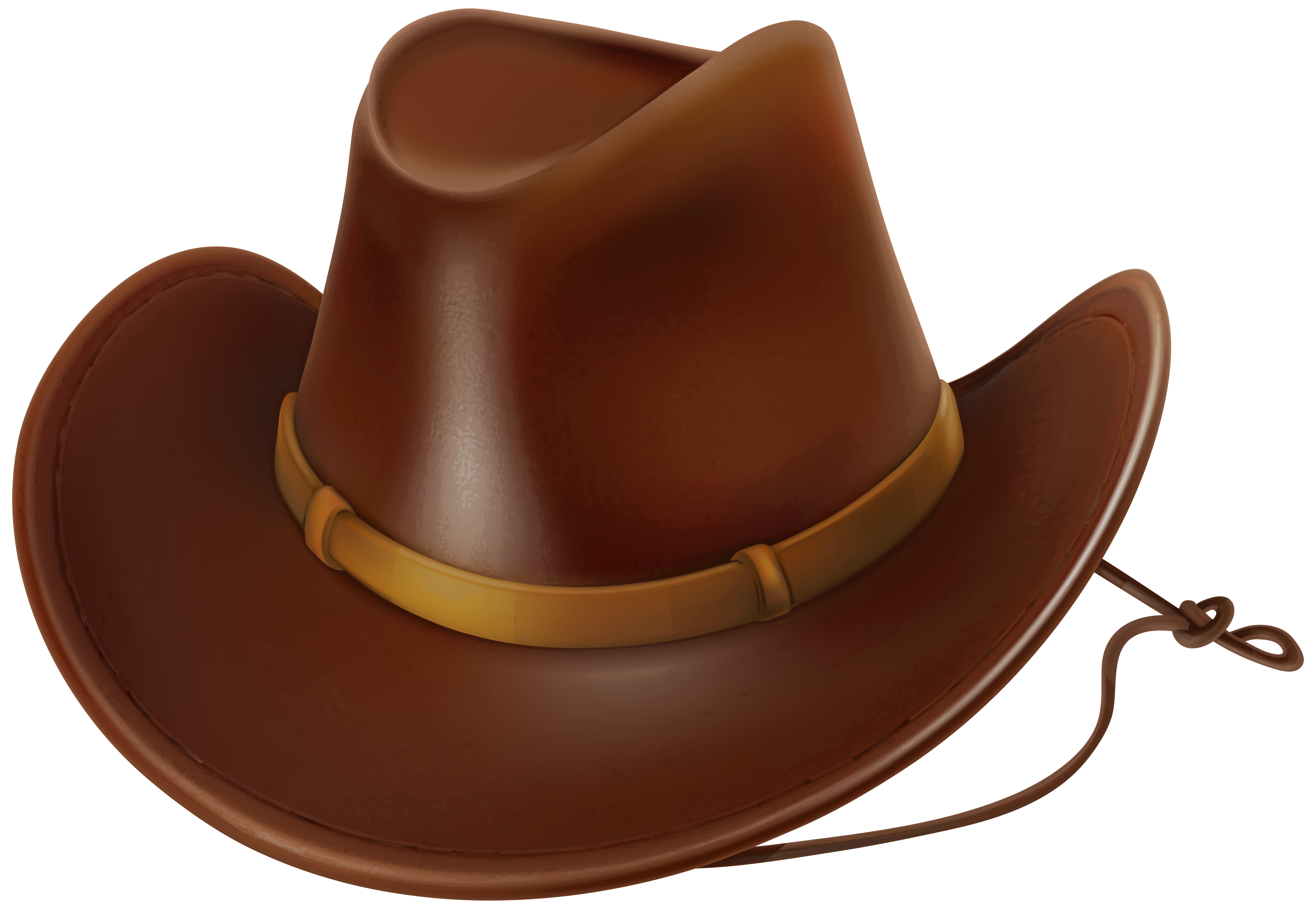 graphic black and white stock Cowboy hat Clip art
