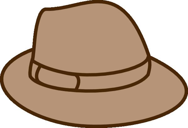 clip art free Hat Beige Clip Art at Clker