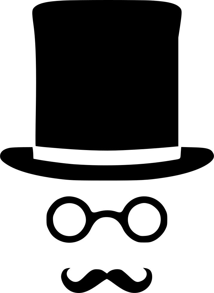 clip free library Clipart mustache gentleman hat