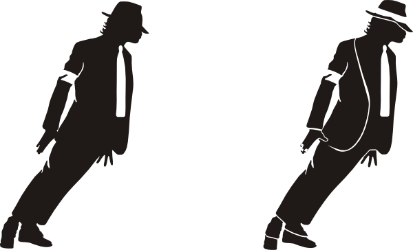 clipart royalty free stock Michael Jackson Silhouette Clip Art at Clker