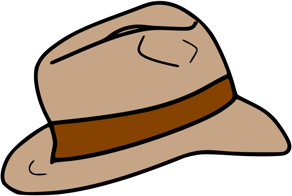 clip art royalty free download fedora clipart indiana jones hat #78771949