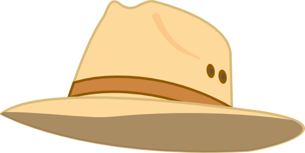 clip freeuse stock Fashionable Hat Clip Art at Clker