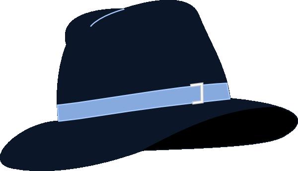 clip free stock Fedora Hat Clip Art at Clker