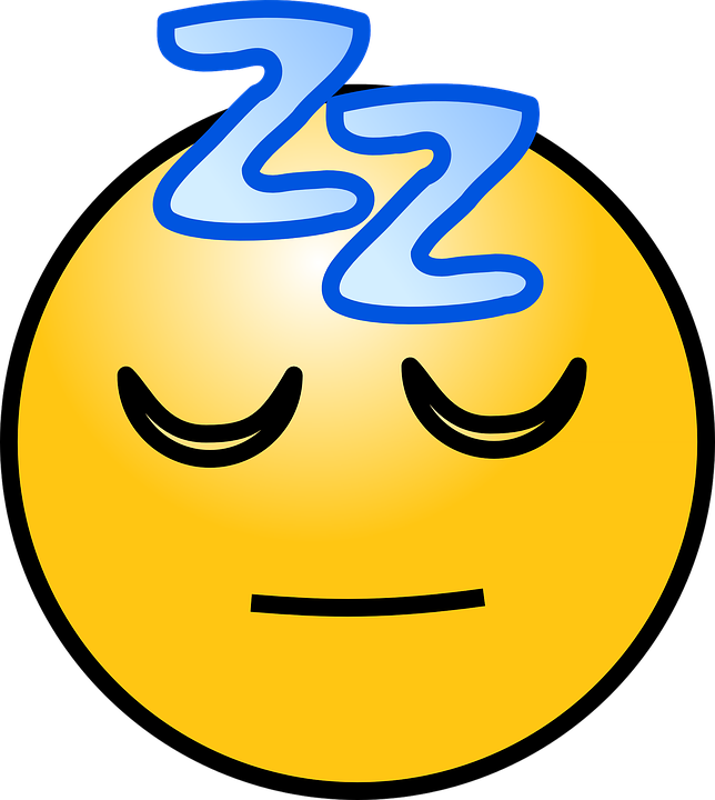 image royalty free download Sleepy Cartoon Face Group