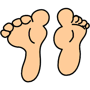 picture freeuse stock Free cliparts download clip. Feet clipart