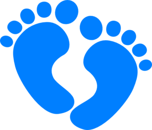 clipart royalty free download Baby . Feet clipart.
