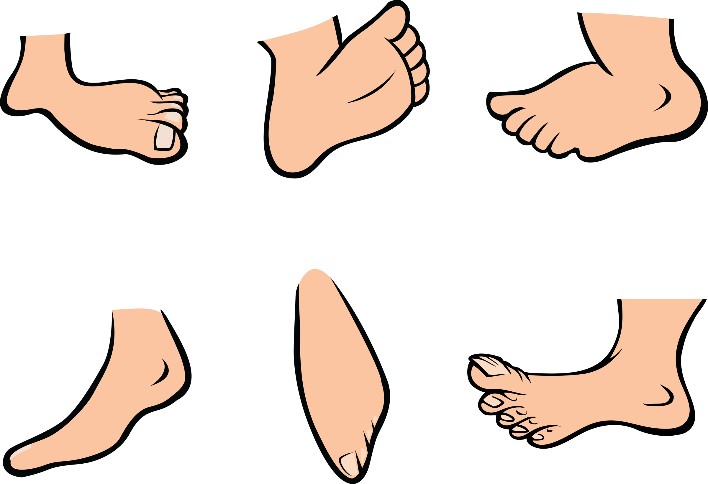clip royalty free download Animated . Feet clipart