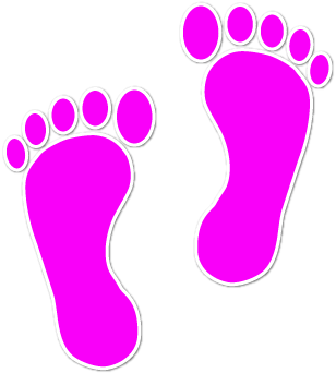 picture transparent download Feet clipart. Walking cilpart beautifully idea