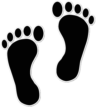 clipart library stock Steps clipart barefoot. Collection of free foot
